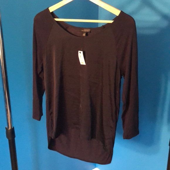 The Limited Tops - Limited NWT long navy shirt XS